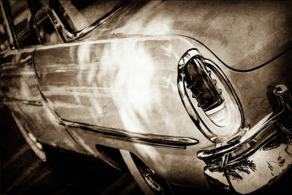 Wall Art - Photograph - 1955 Mercury Monterey Taillight -0351s by Jill Reger
