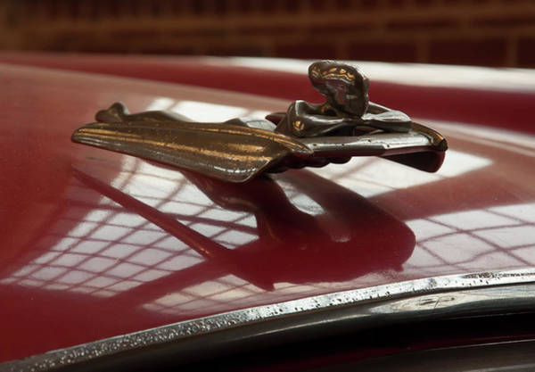 Photograph - 1955 Nash Ambassador Custom Hood Ornament by Chris Flees