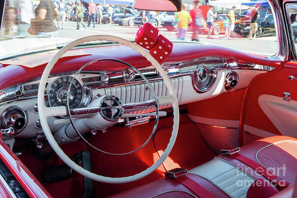 Photograph - 1955 Oldsmobile Interior by Kevin McCarthy