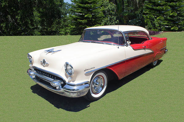 Photograph - 1955 Oldsmobile Super 88 Holiday by Carlos Diaz