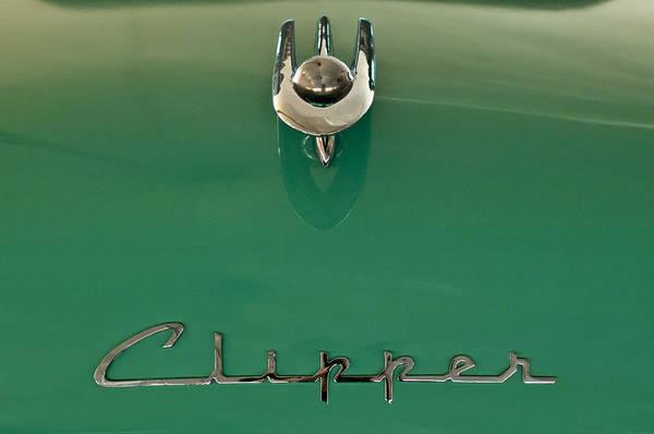 Photograph - 1955 Packard Clipper Hood Ornament 2 by Jill Reger