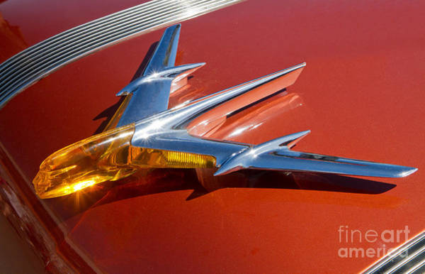 Photograph - 1955 Pontiac Hood Ornament by Kevin McCarthy