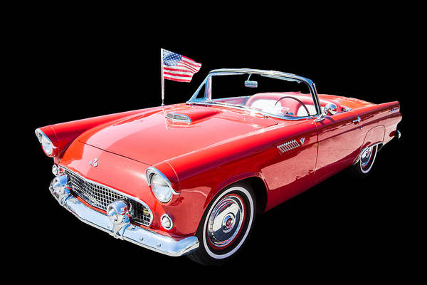 Photograph - 1955 Thunderbird Photograph Fine Art Prints 1250.02 by M K Miller