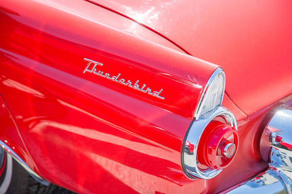 Photograph - 1955 Thunderbird Photograph Fine Art Prints 1259.02 by M K Miller