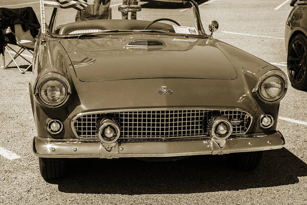 Photograph - 1955 Thunderbird Photograph Fine Art Prints 1269.01 by M K Miller