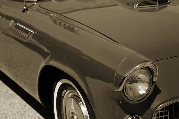 Photograph - 1955 Thunderbird Photograph Fine Art Prints 1270.01 by M K Miller