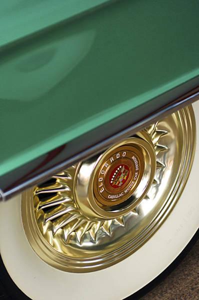 Photograph - 1956 Cadillac Eldorado Tire by Jill Reger