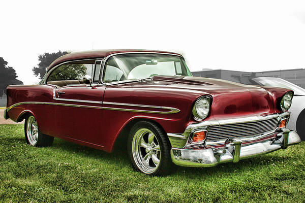 Photograph - 1956 Chevrolet Bel Air by Daniel Adams