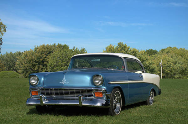 Photograph - 1956 Chevrolet Belair by Tim McCullough