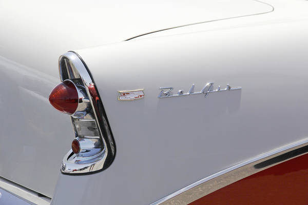 Wall Art - Photograph - 1956 Chevy Belair by Mike McGlothlen