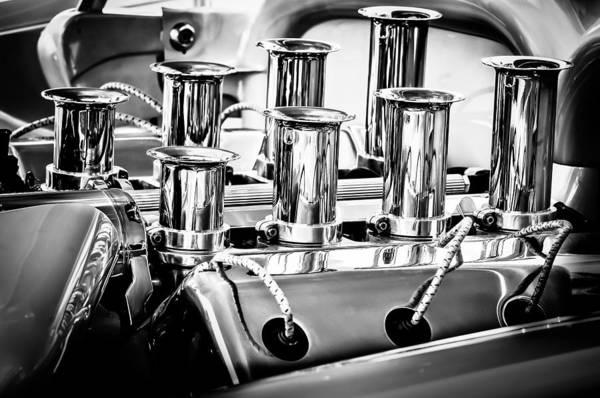 Photograph - 1956 Chrysler Hot Rod Engine by Jill Reger