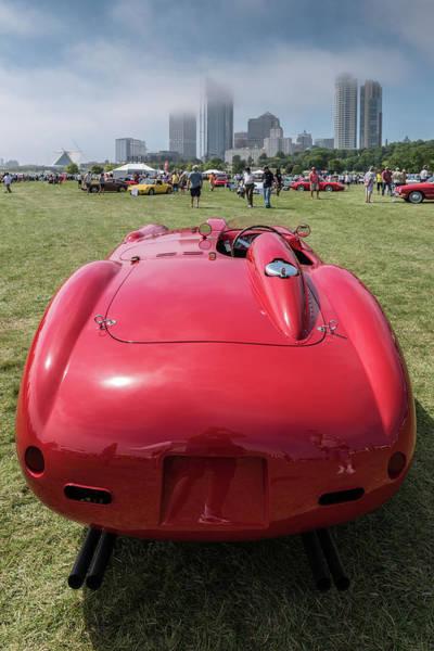 Photograph - 1956 Ferrari 290mm - 2 by Randy Scherkenbach
