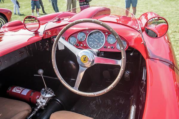 Photograph - 1956 Ferrari 290mm - 4 by Randy Scherkenbach