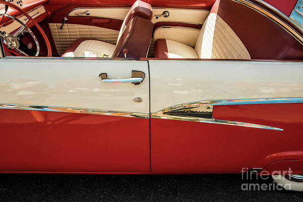 Photograph - 1956 Ford Customline by M G Whittingham