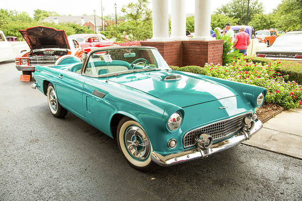 Photograph - 1956 Ford Thunderbird 5510.07 by M K Miller
