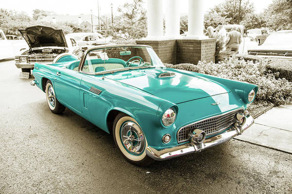 Photograph - 1956 Ford Thunderbird 5510.08 by M K Miller