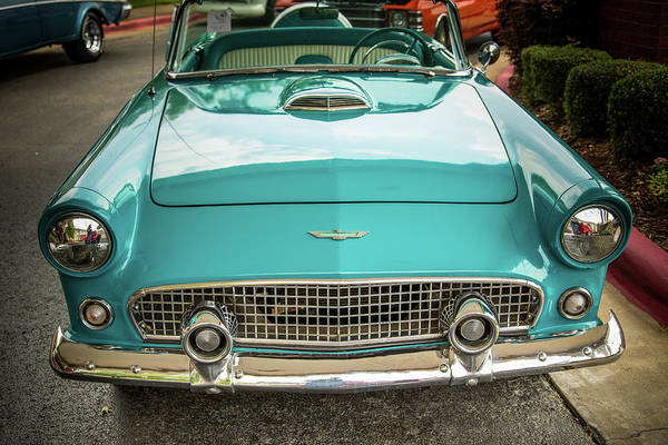 Photograph - 1956 Ford Thunderbird 5510.09 by M K Miller