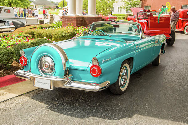 Photograph - 1956 Ford Thunderbird 5510.12 by M K Miller
