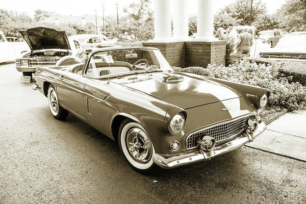 Photograph - 1956 Ford Thunderbird 5510.56 by M K Miller