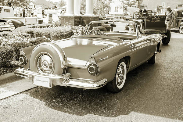 Photograph - 1956 Ford Thunderbird 5510.60 by M K Miller