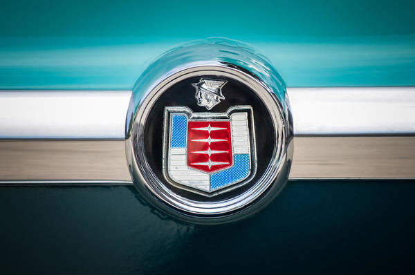 Photograph - 1956 Mercury Monterey Emblem by Jill Reger