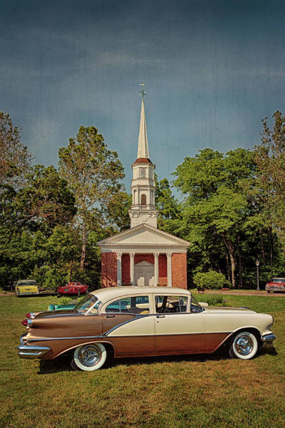 Photograph - 1956 Oldsmobile Super 88 by Susan Rissi Tregoning