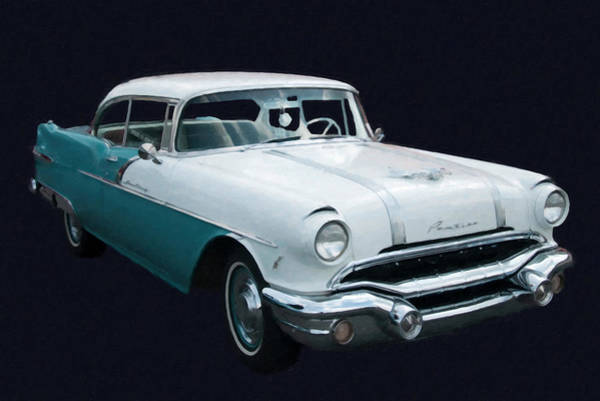 Painting - 1956 Pontiac Star Chief Digital Oil by Chris Flees