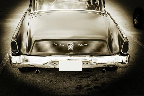 Photograph - 1956 Studebaker Power Hawk 5543.62 by M K Miller