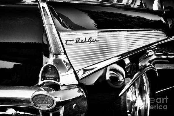 Chevrolet Bel Air Photograph - 1957 Bel Air Fin by Tim Gainey