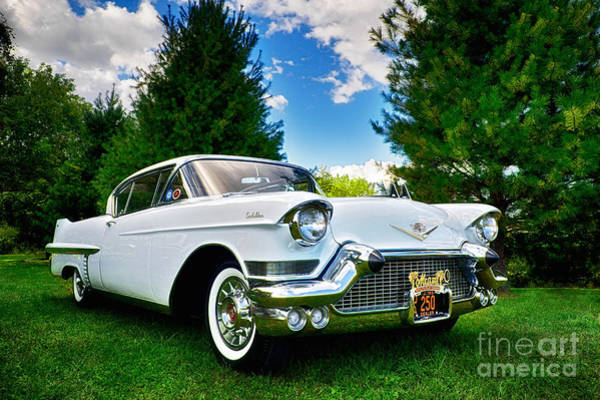 Photograph - 1957 Cadillac by Mark Miller