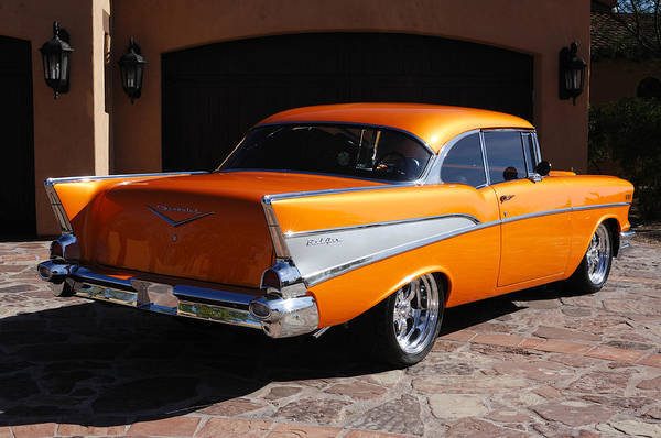 Photograph - 1957 Chevrolet Belair Coupe by Jill Reger