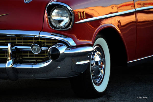 Photograph - 1957 Chevrolet  by Lesa Fine