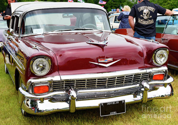 Photograph - 1957 Chevy Belair by Colin Rayner