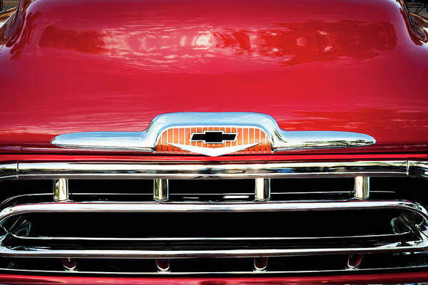 Photograph - 1957 Chevy Pick Up Truck 3100 Series 005 by Rich Franco
