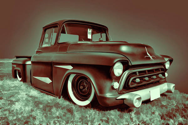 Awesome Show Digital Art - 1957 Chevy by Timothy Rohman
