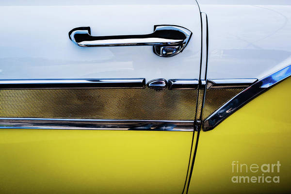 Photograph - 1957 Ford Fairlane 500 Door by M G Whittingham