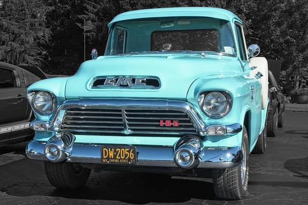 Photograph - 1957 Gmc 100 by Guy Whiteley