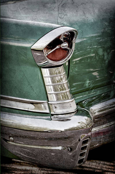 Photograph - 1957 Oldsmobile 98 Starfire Convertible Taillight -2912ac by Jill Reger