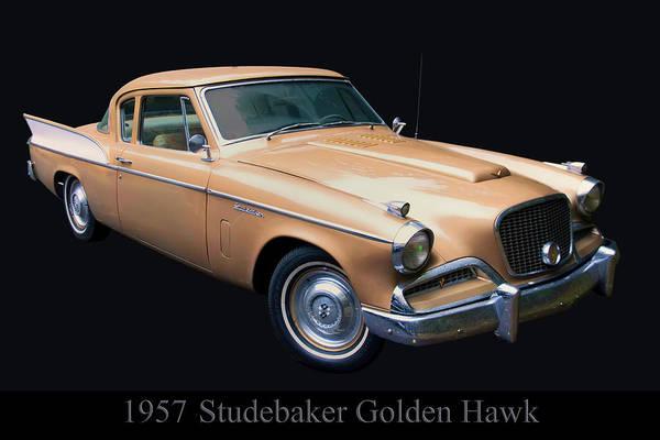 Photograph - 1957 Studebaker Golden Hawk by Chris Flees