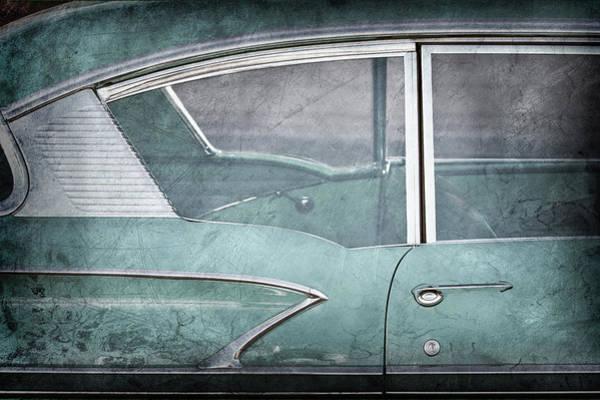 Wall Art - Photograph - 1958 Chevrolet Belair -0820ac by Jill Reger