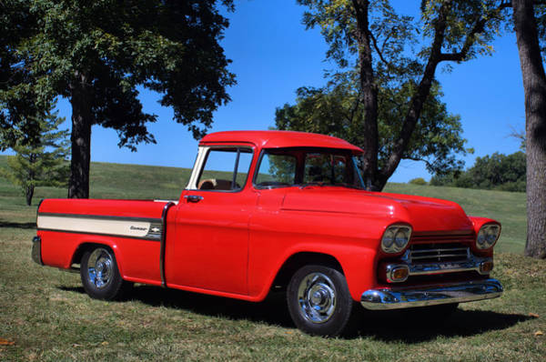 Photograph - 1958 Chevrolet Cameo Pickup by Tim McCullough