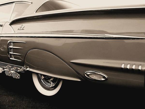 Photograph - 1958 Chevy Impala  by Kathy K McClellan