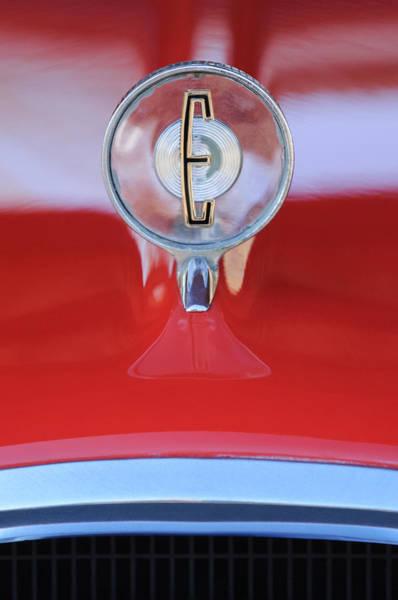 Photograph - 1958 Edsel Ranger Hood Ornament 2 by Jill Reger