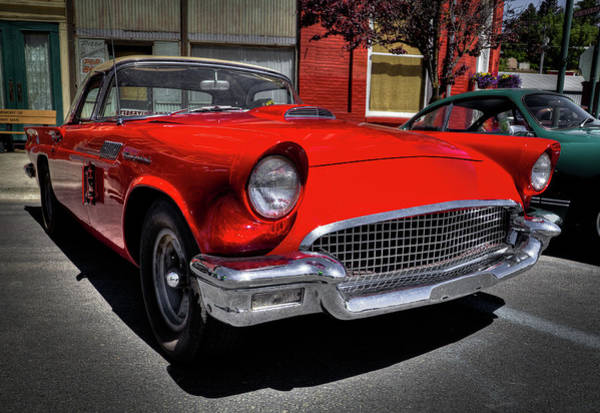 Photograph - 1957 Ford Thunderbird by David Patterson