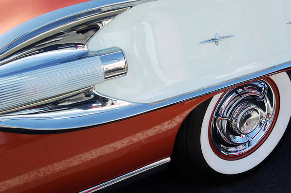 Photograph - 1958 Pontiac Bonneville Wheel by Jill Reger
