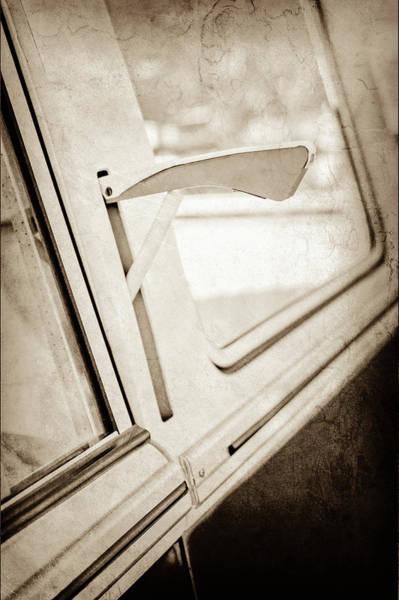 Wall Art - Photograph - 1958 Volkswagen Vw Bus Turn Signal -0278s by Jill Reger