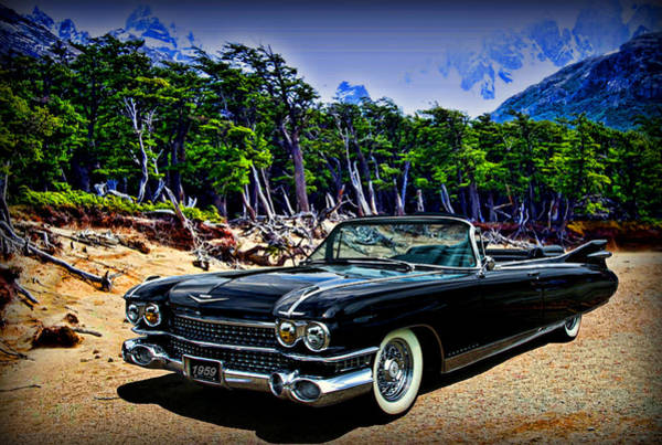 Photograph - 1959 Cadillac Eldorado Biarritz Convertible by Tim McCullough