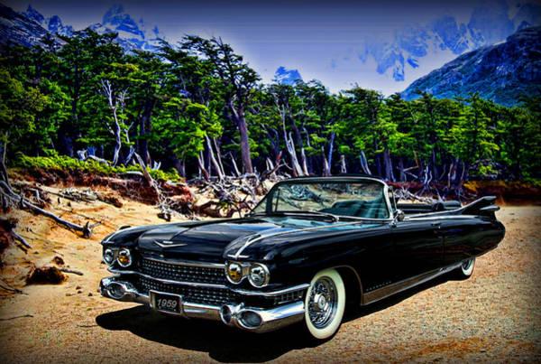 1959 Cadillac Eldorado Biarritz Convertible Art Print