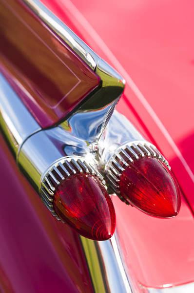 Photograph - 1959 Cadillac Eldorado Tail Fin 2 by Jill Reger