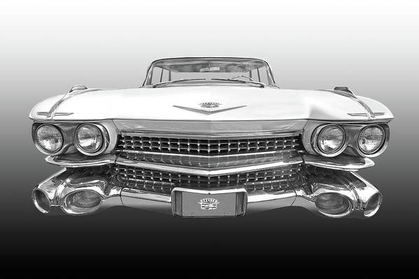 Photograph - 1959 Cadillac Front View by Gill Billington